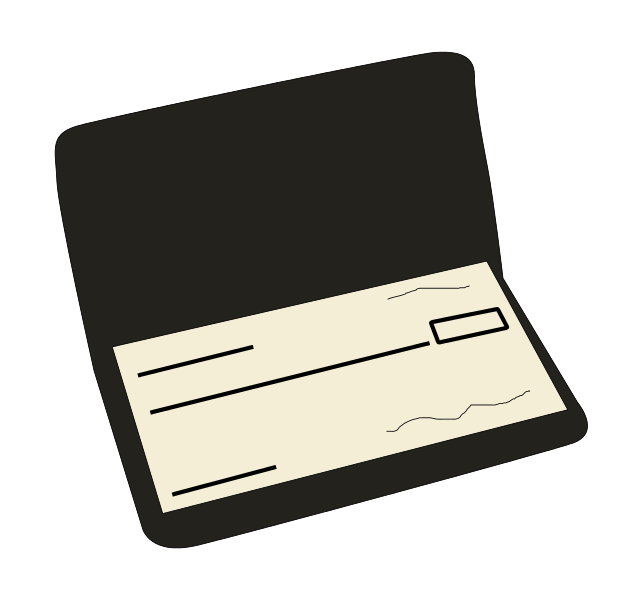 checkbook icons png vector free icons and png backgrounds