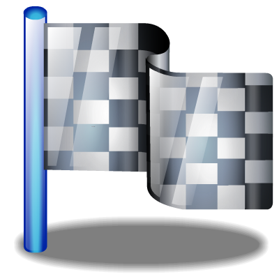 Checkered Flag Free Vector