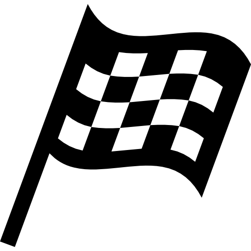 Png Checkered Flag Vector 512x512, Checkered Flag HD PNG Download