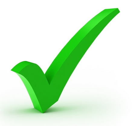 checkmark green png images