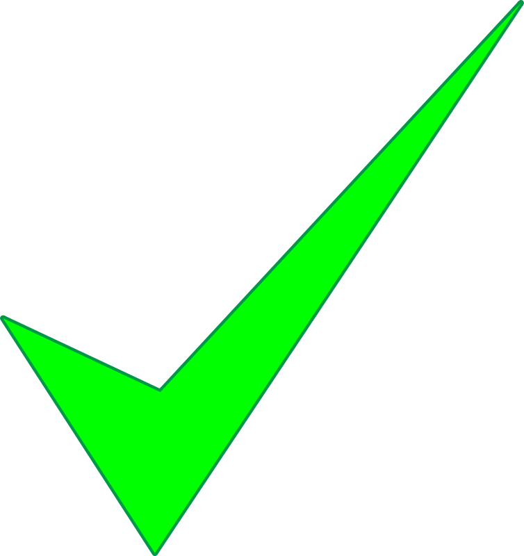 Checkmark Png Available In Different Size image #25976