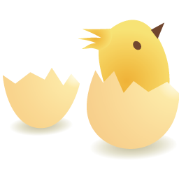 Chicks Png Vector image #20958