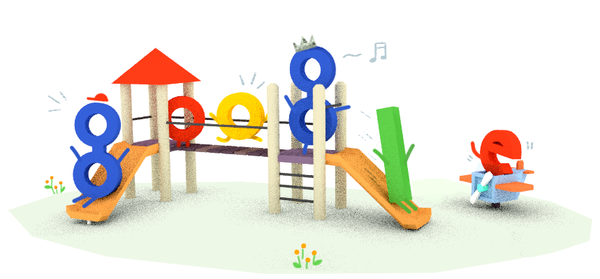 Childrens Day Google Doodles Png image #25032