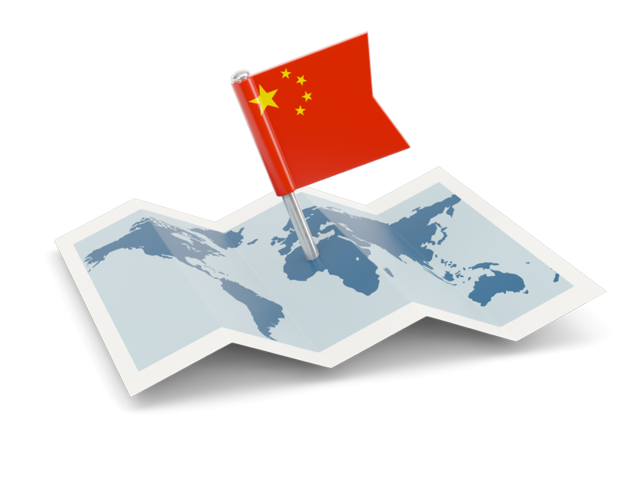 China Country Map Icon image #31222