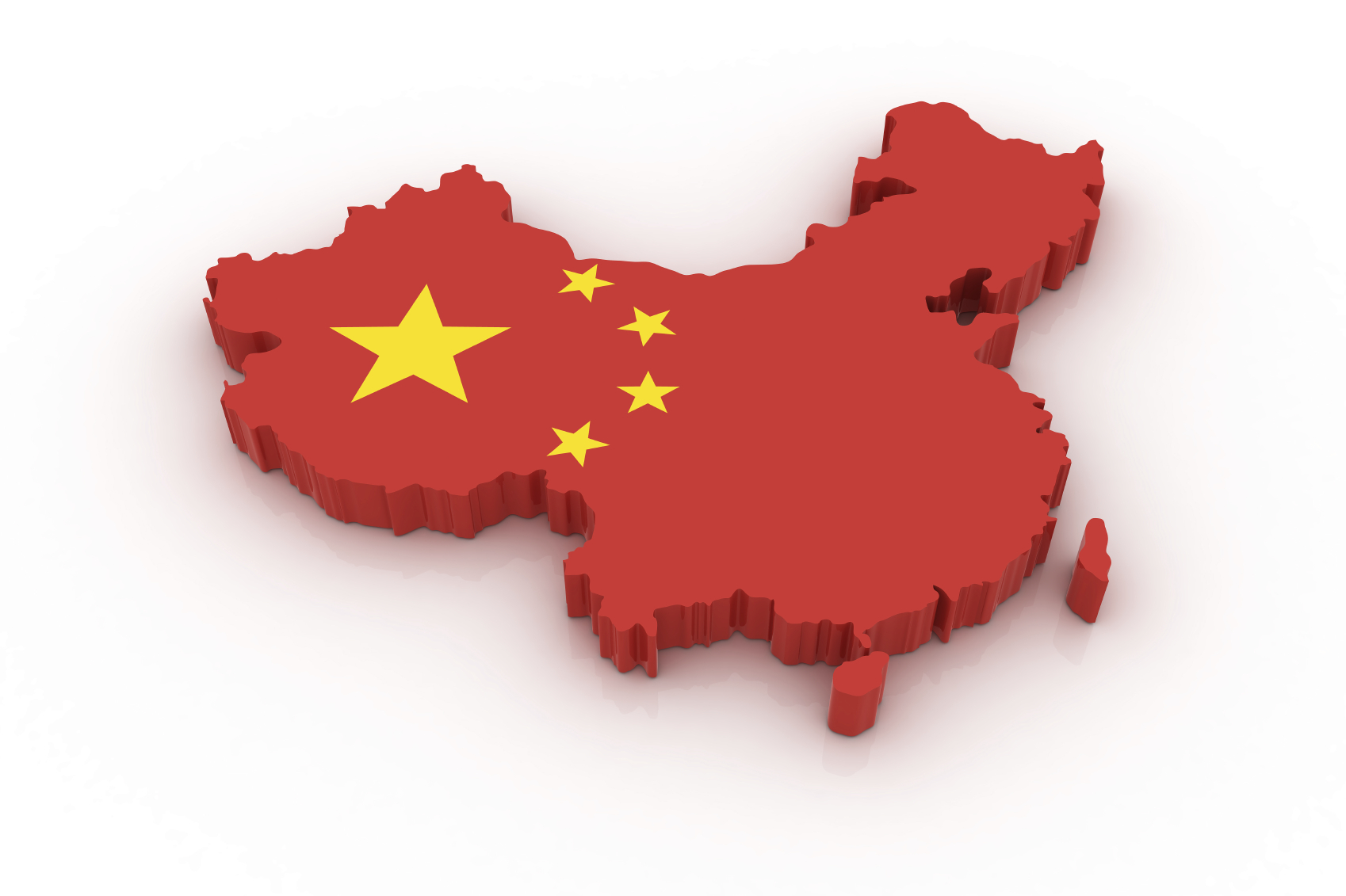 China Country Map Icon image #31211
