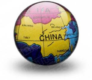 China Map Save Icon Format image #31214