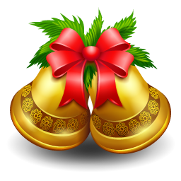 Christmas Bell Clip Art image #30824