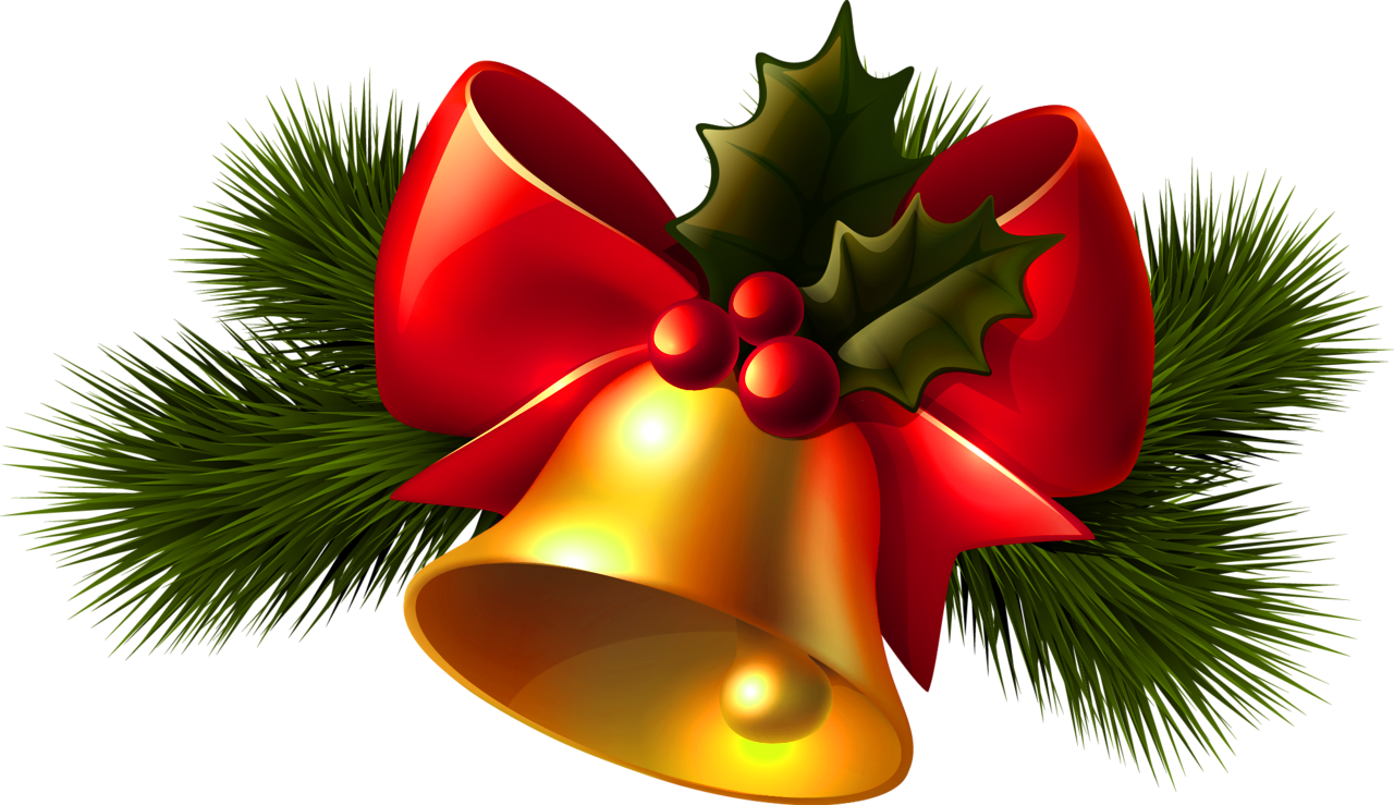 Png Christmas Bell Download Clipart 1280x739, Christmas Bell HD PNG Download