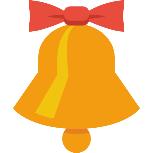 Free Download Of Christmas Bell Icon Clipart image #30834