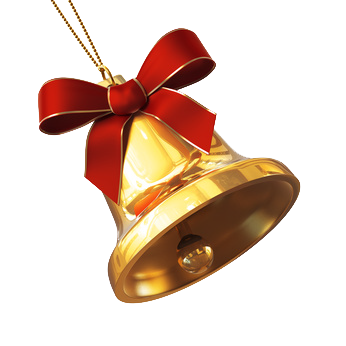 High Resolution Christmas Bell Png Clipart