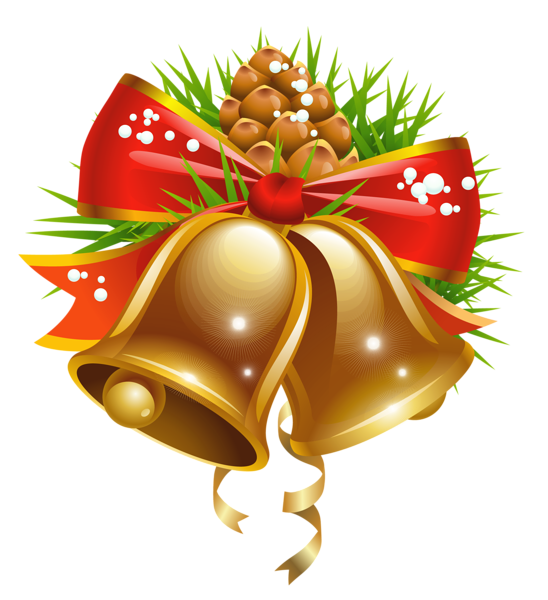 Christmas Bell Png Clipart image #30814