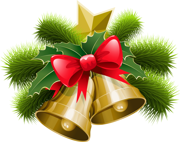 High Resolution Christmas Bell Png Clipart image #30836