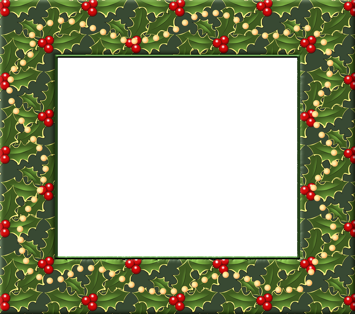 Christmas Borders And Frames Png image #30323