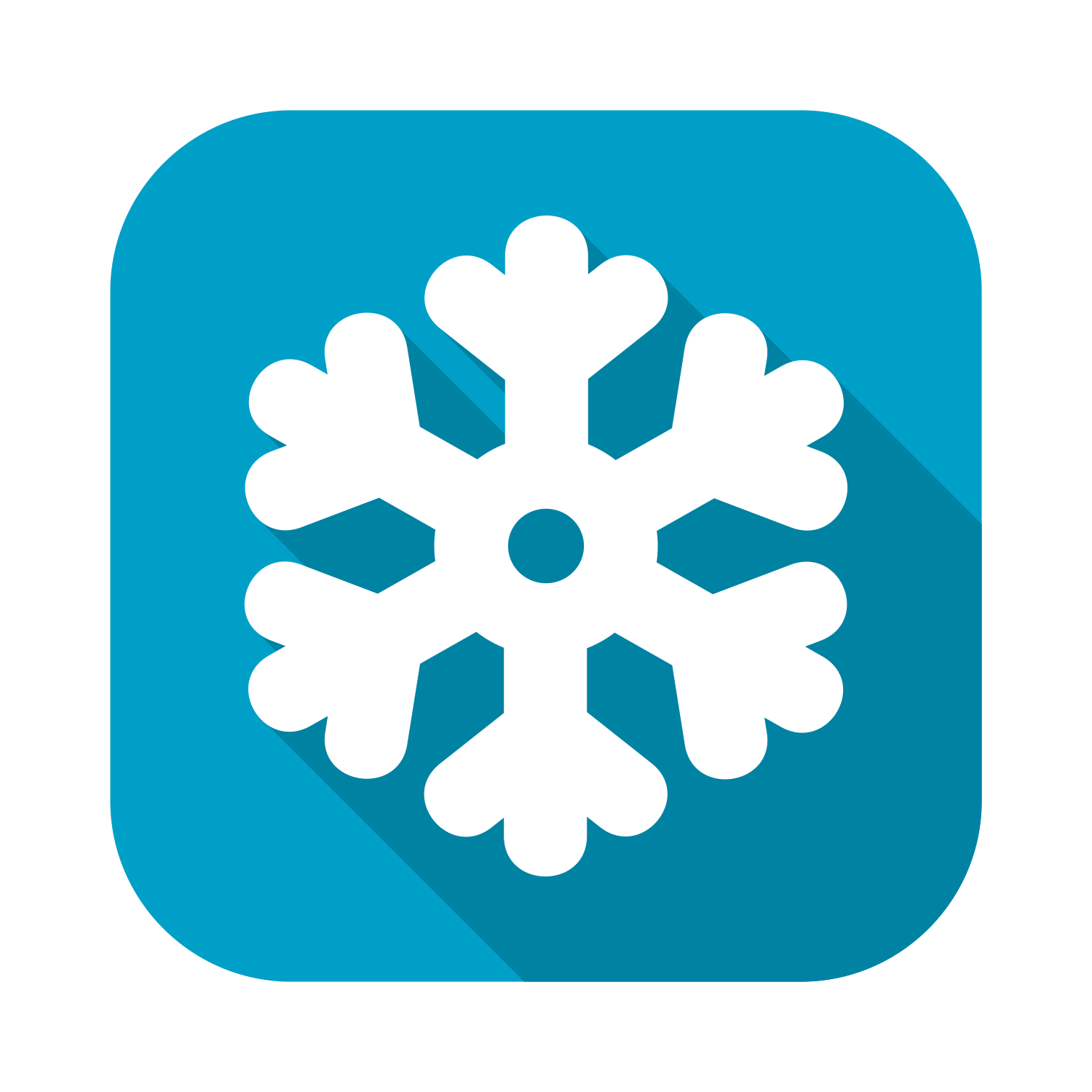 Christmas, Flake, Holiday, Snow, Snow Flake Icon  image #31380