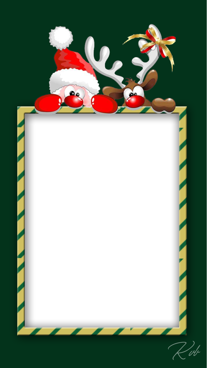 Christmas Frame, santa frame photo