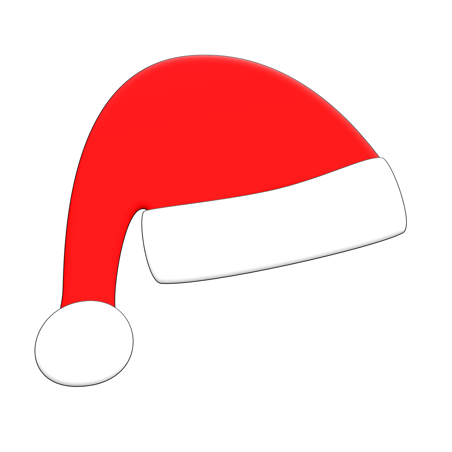 PNG Transparent Christmas Hat