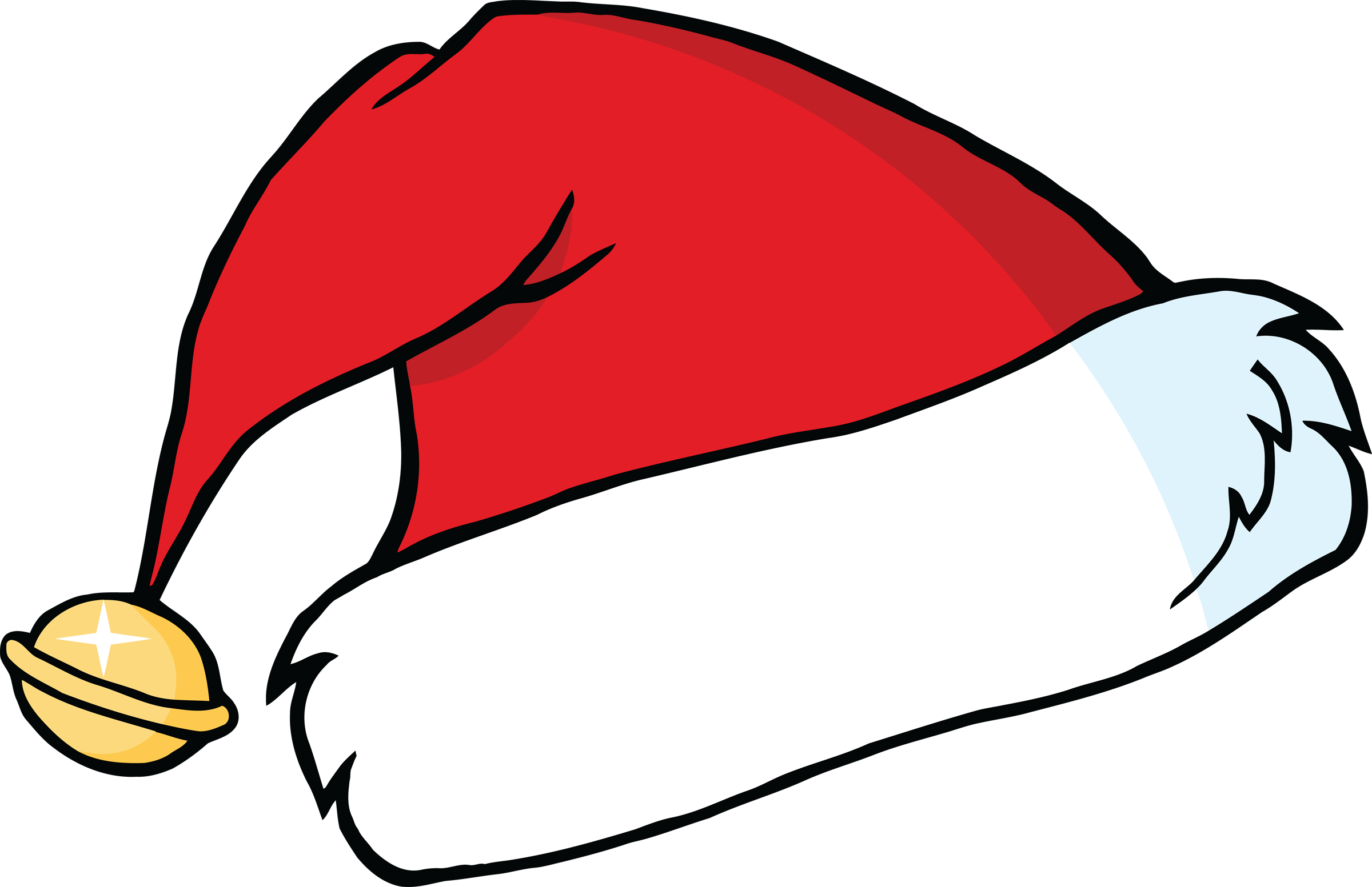 Download And Use Christmas Hat Png Clipart image #19606