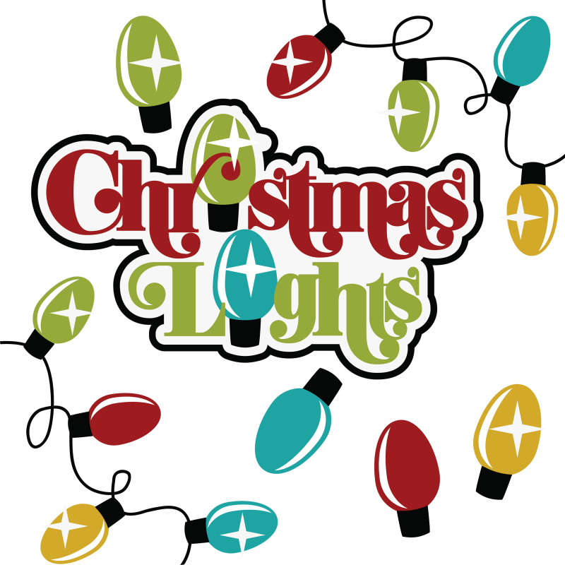 Christmas Lights Collection Png Clipart image #14348
