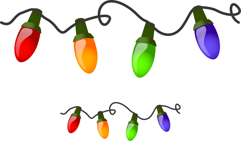 Christmas Lights Png Free Images Download image #14342