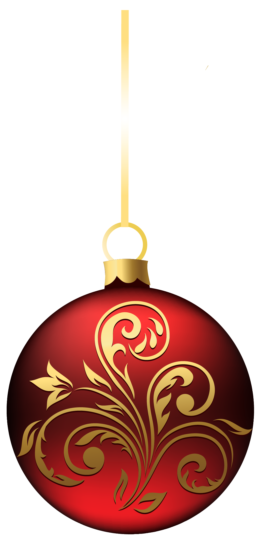 Christmas Ornament Transparent PNG image #46343