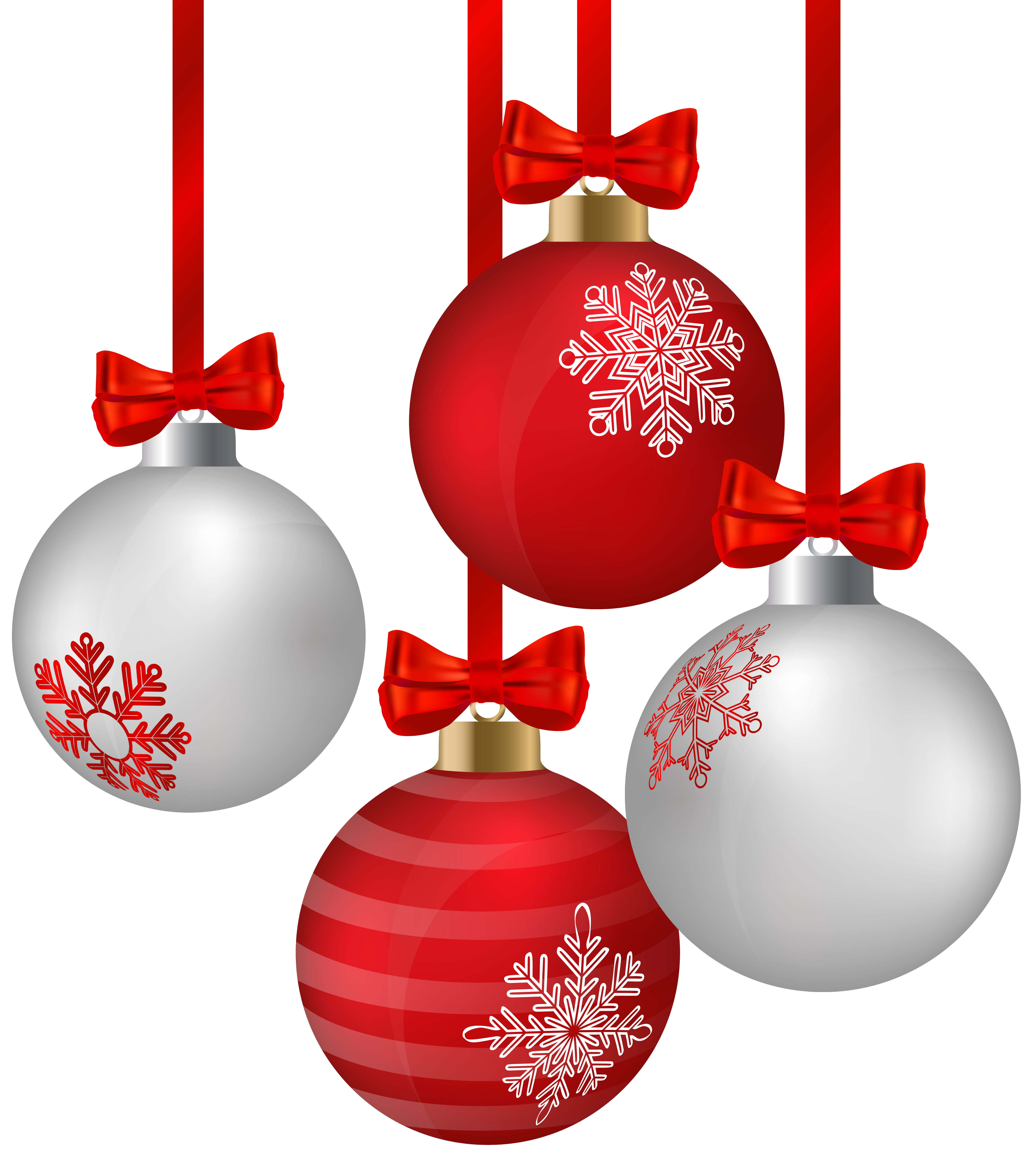Christmas Ornaments Clip Art Png Transparent Background Free Download 46348 Freeiconspng