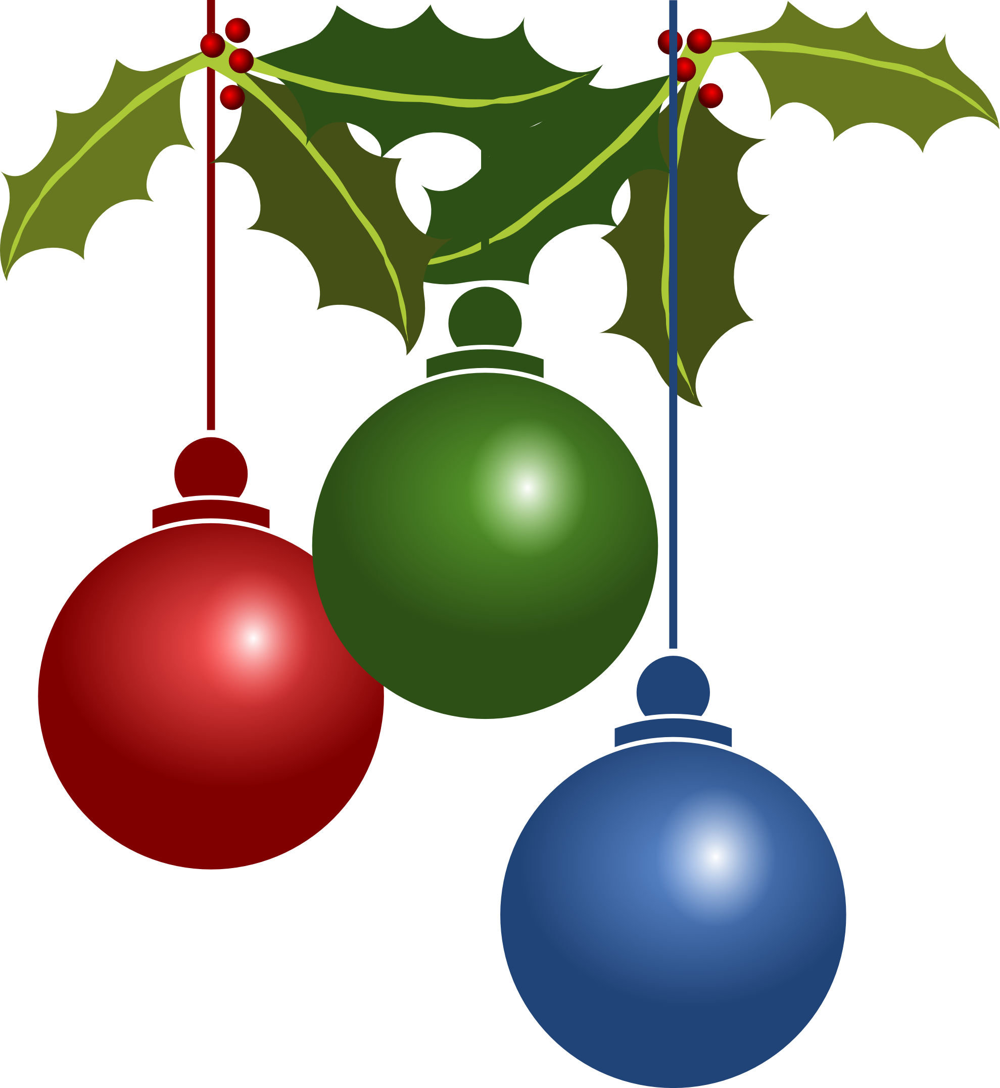 Christmas Ornaments PNG Picture image #46344