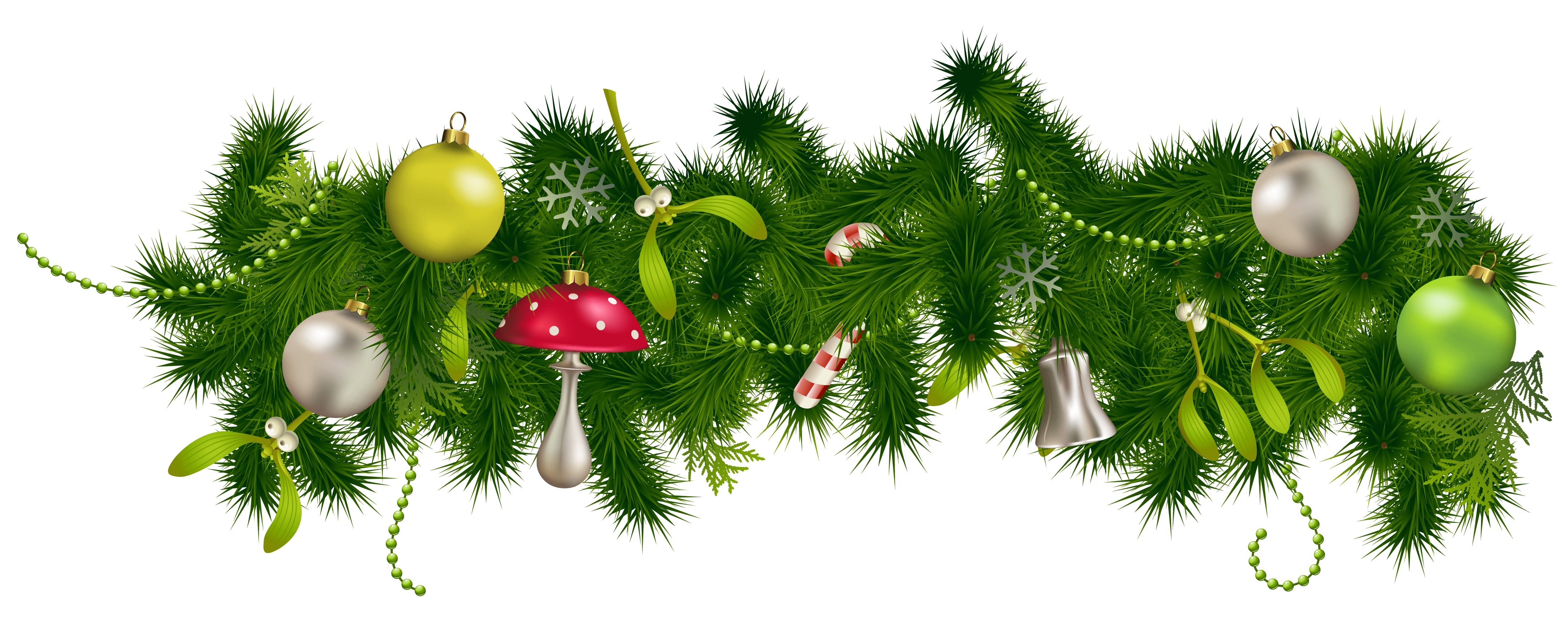 Christmas Pine Transparent Background