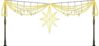 Christmas Star Ornaments Png image #33919