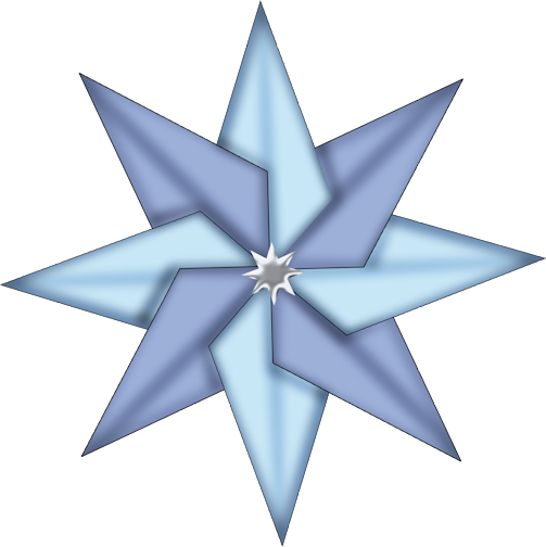 Clipart PNG Christmas Star image #33910