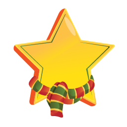 Christmas Star Png Available In Different Size image #33913