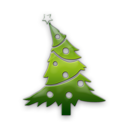 Christmas Tree Icon image #23763