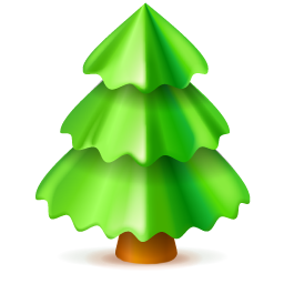 Christmas Tree Icon image #23764