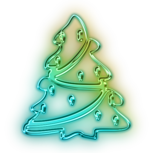 Vector Christmas Tree Icon image #23769