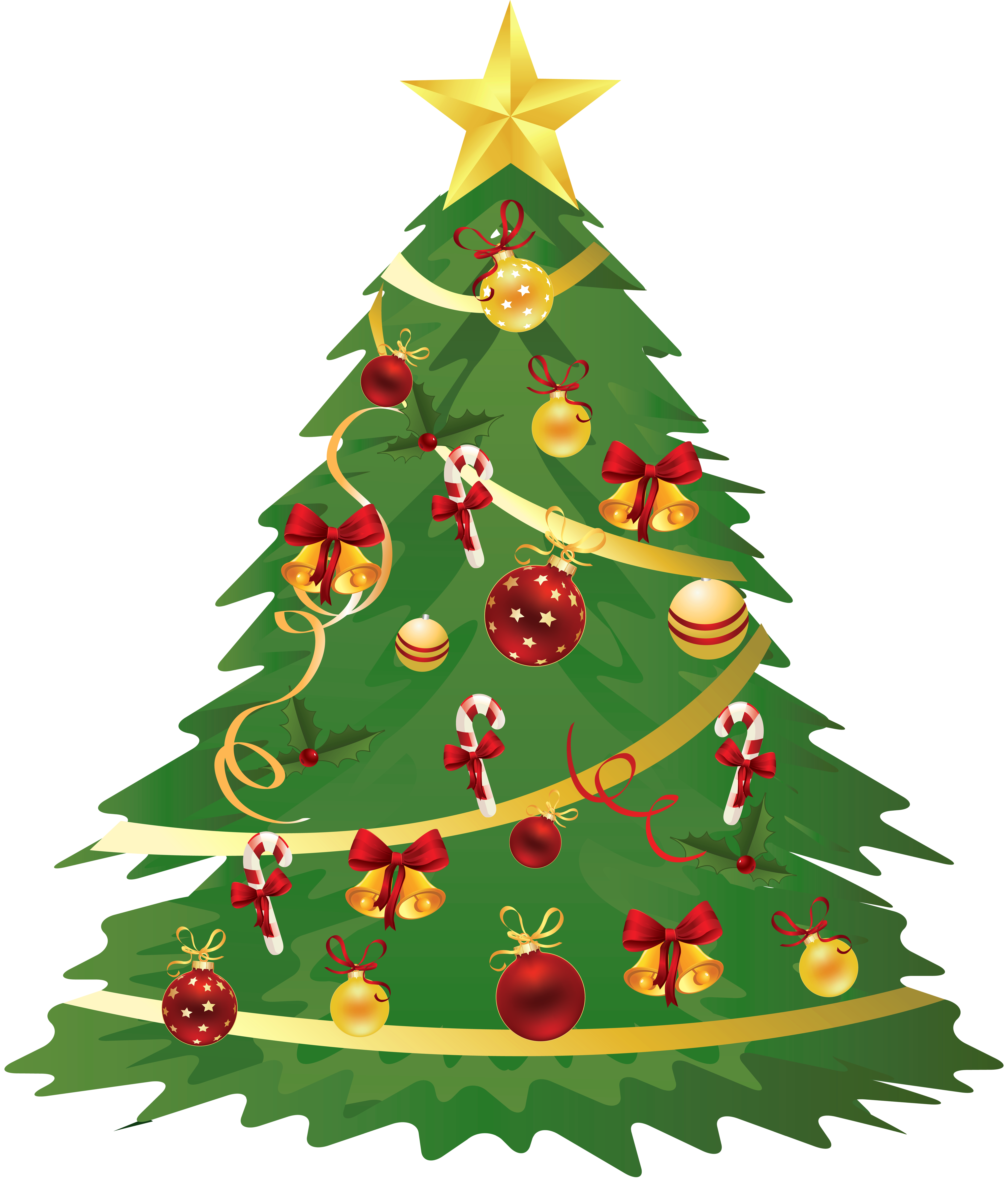 Christmas Tree Ornaments Transparent image #35271