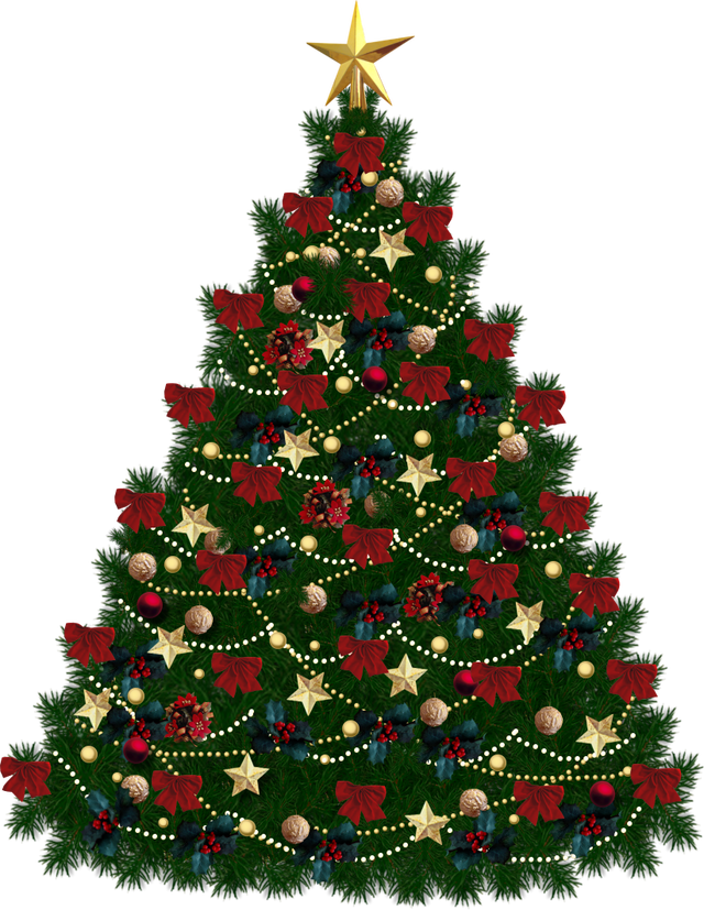 Christmas Tree Transparent Background.Christmas Tree Ornaments Transparent Image 35272 Free