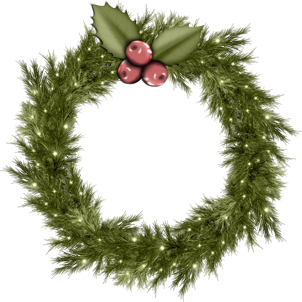 Christmas Wreath Png image #39757