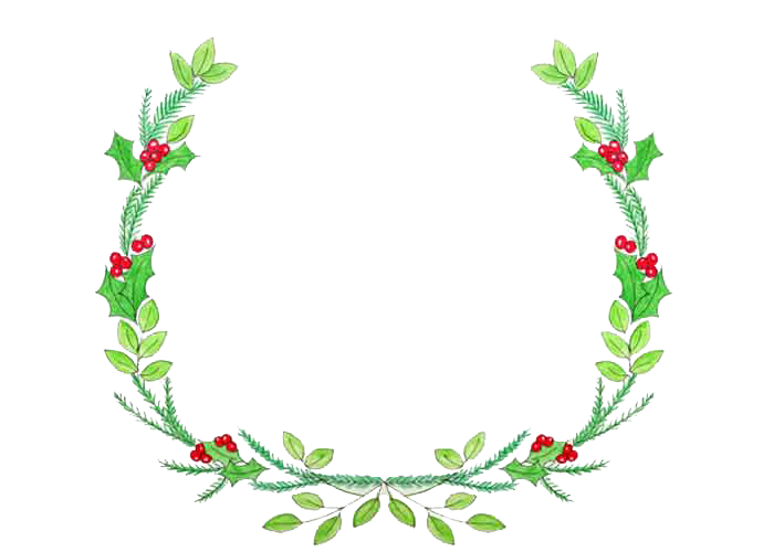 Clipart Collection Christmas Wreath Png image #39767