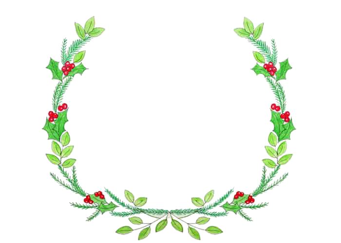 Christmas Wreath Png image #39767