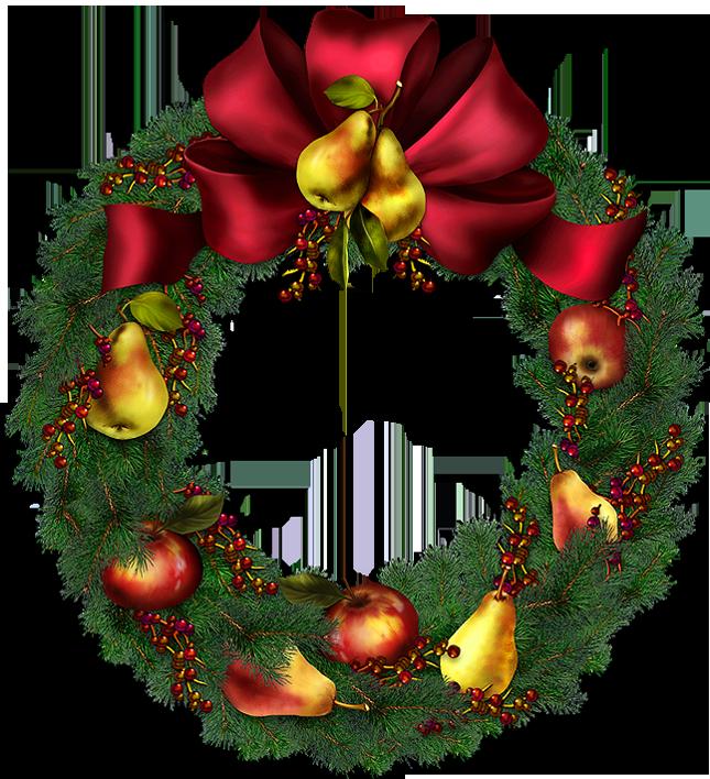 Christmas Wreath Png image #39773