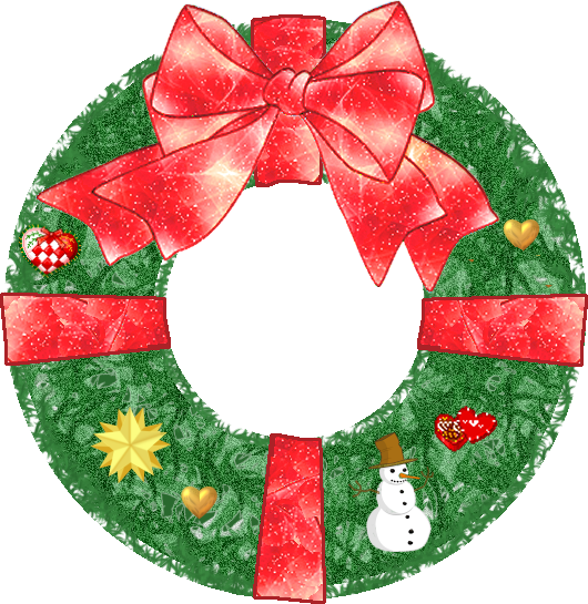 PNG Christmas Wreath Transparent image #39774