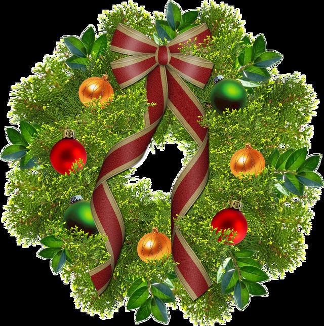 Christmas Wreath Png image #39776
