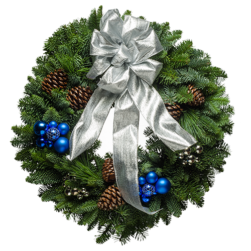 Download Christmas Wreath Free PNG image #39779