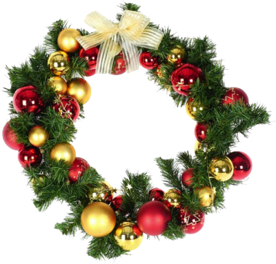 Christmas Wreath In Png
