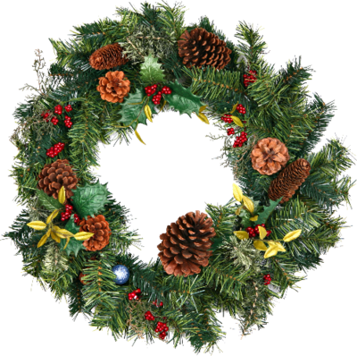 Png Photo Christmas Wreath 39784 Free Icons And Png