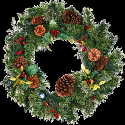 Christmas Wreath Png image #39784