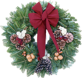 Christmas Wreath Png image #39785