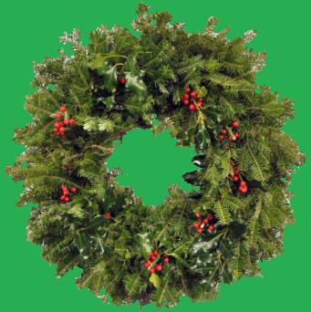 Christmas Wreath Png image #39786