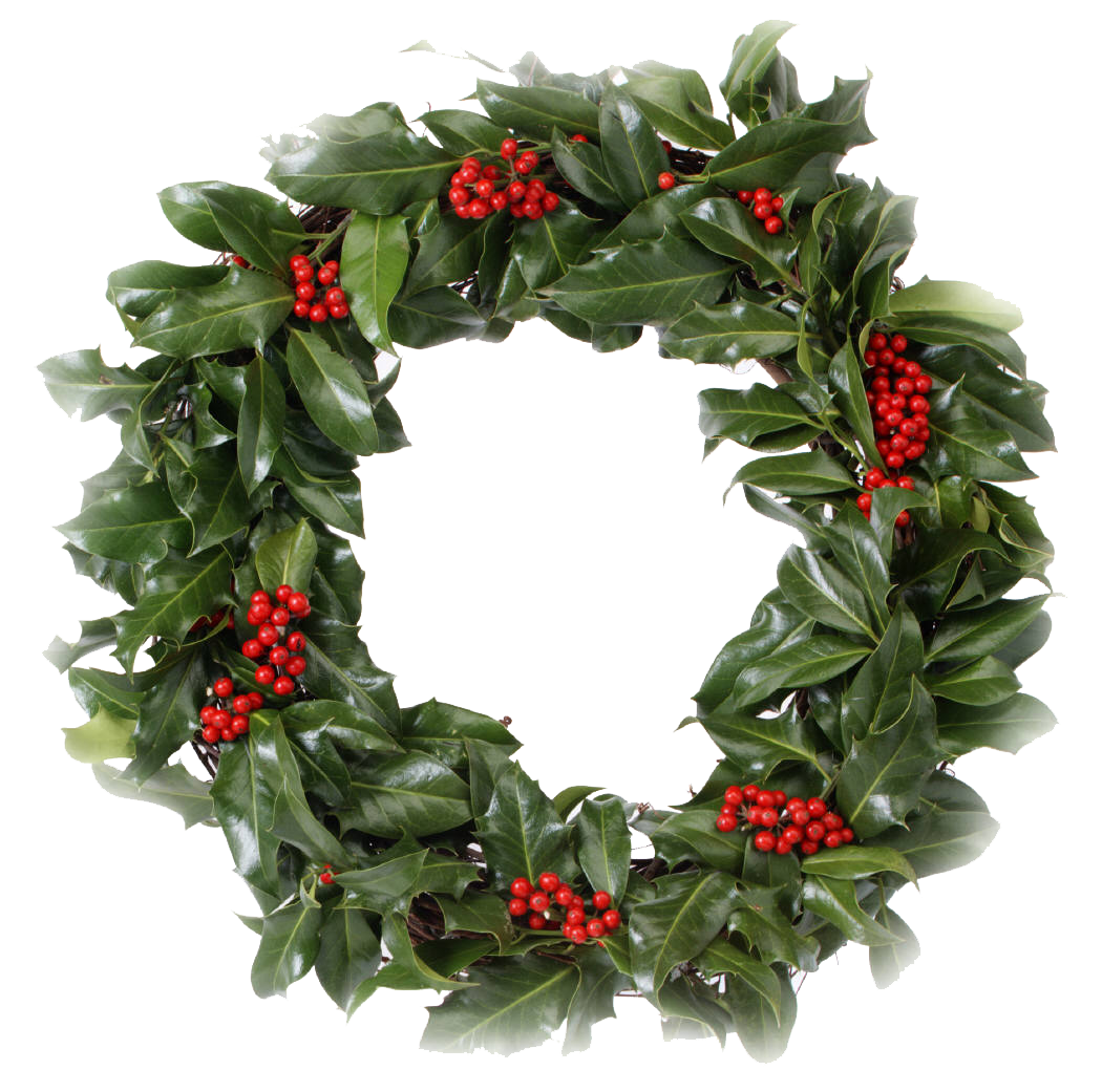 Christmas Wreath PNG Transparent image #39762