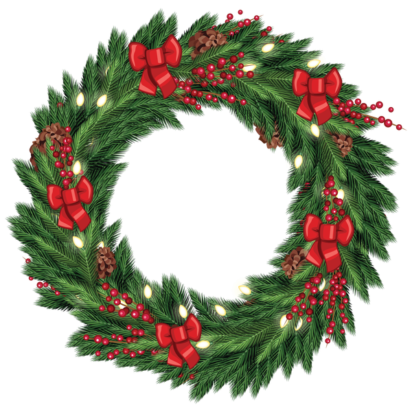 Download Free Christmas Wreath PNG