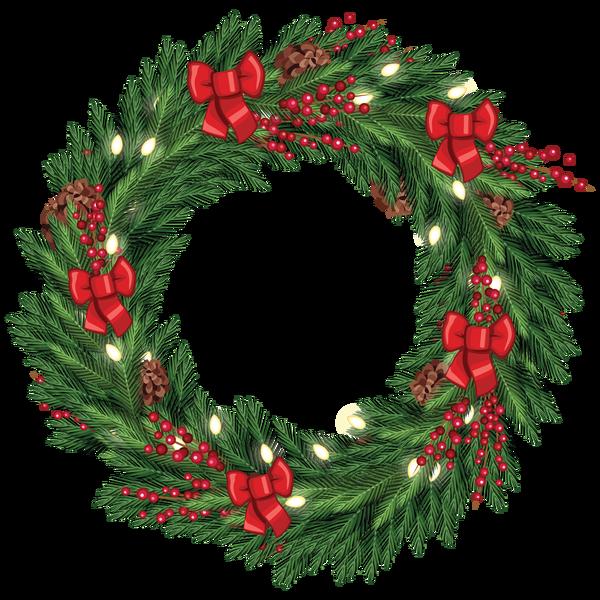 Christmas Wreath Png image #39765